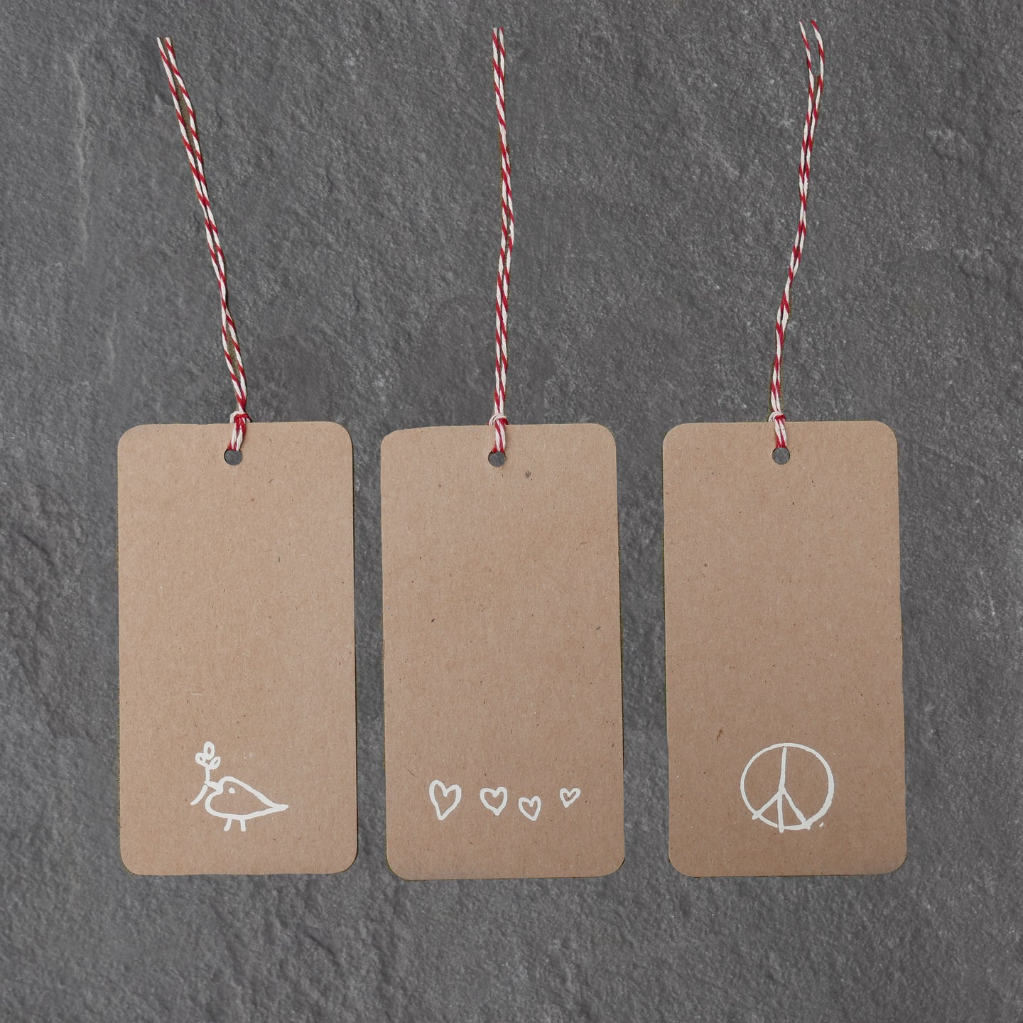 woodstock gift tags