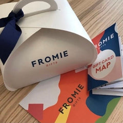 fromie gift card with map for use in frome venues
