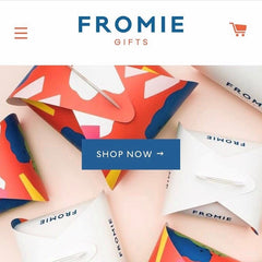 fromie gifts website home page