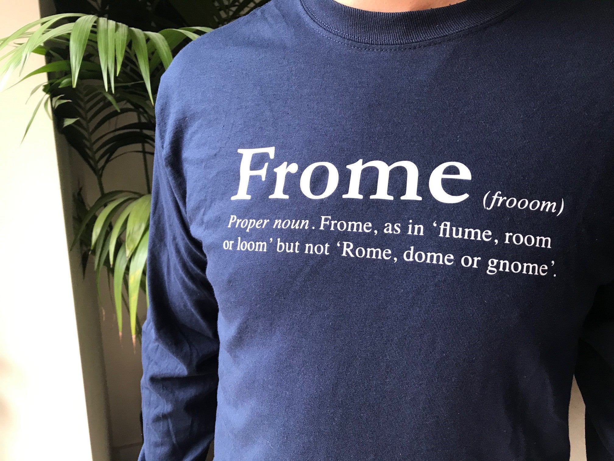 Long Sleeve Frome T Shirt