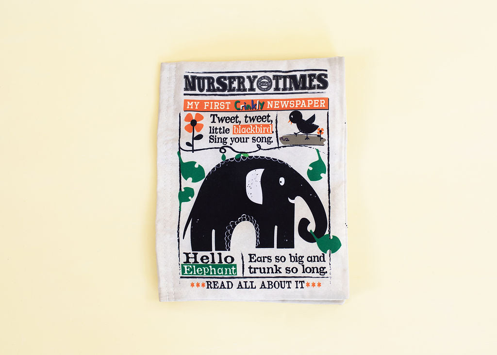 Crinkle Cloth Newspaper