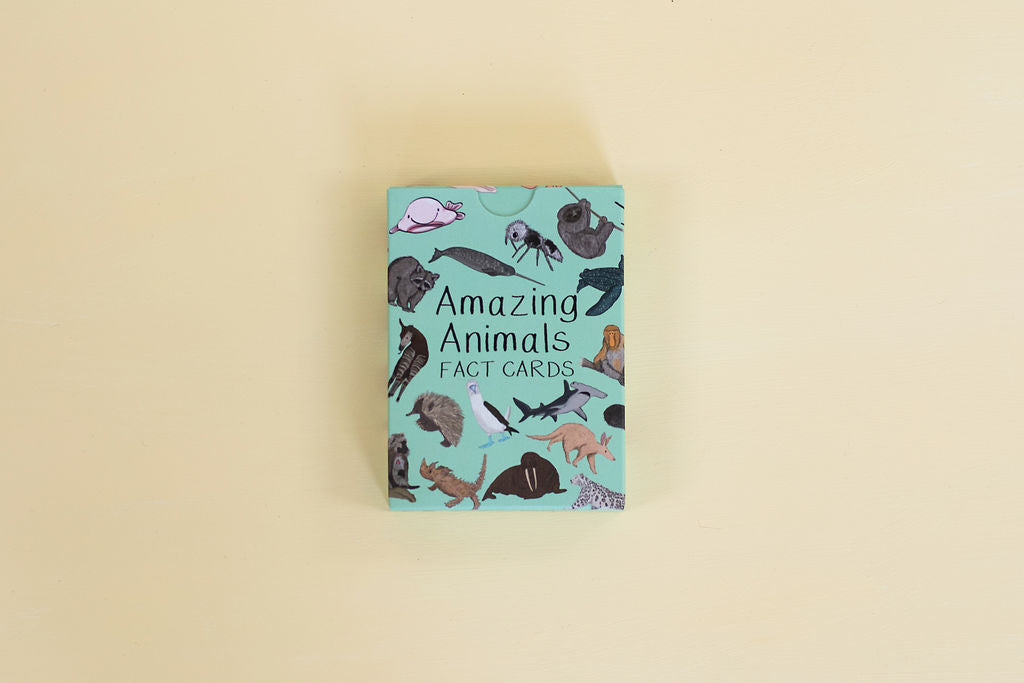 Amazing Animals Fact Cards