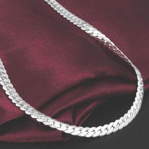 925 Silver Plating Fashion 5mm Necklace