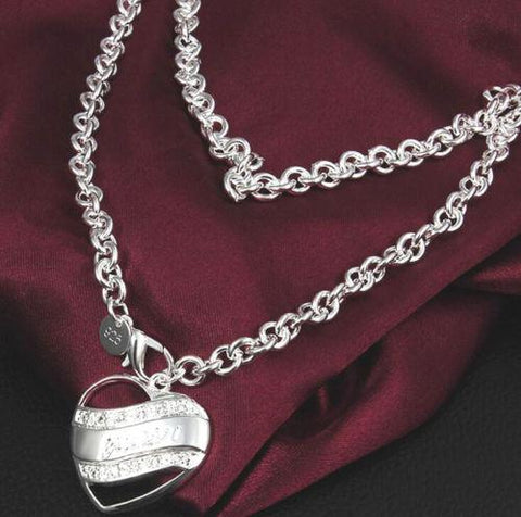 925 Silver Fashion Style Necklace