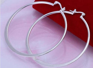 925 Sterling SilverDangle Earrings 55MM