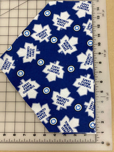 Sports Dog bandanas. Toronto Maple Leafs. Small, medium, large, fits ON the collar!