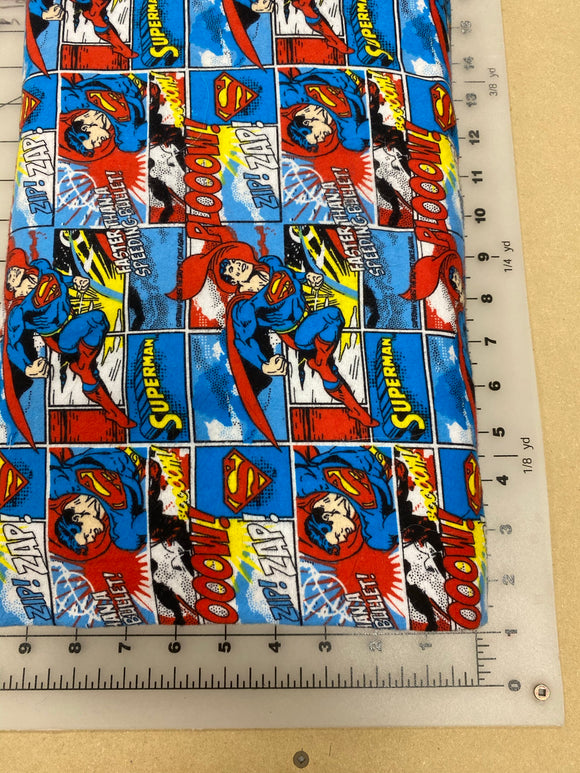 Pop Culture Dog bandanas. Superman. Small, medium, large, fits ON the collar!