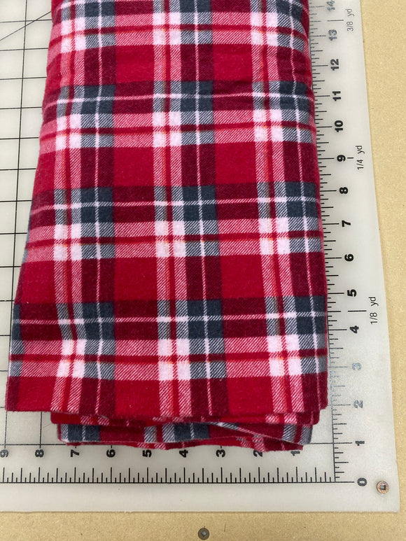 Plaid Dog bandanas. Dark pink plaid. Small, medium, large, fits ON the collar!