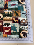 Animals Dog bandanas. Cottage country, small, medium, large, fits ON the collar!