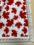Canada Dog bandanas. Red leaves, small, medium, large, fits ON the collar!