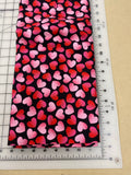 Valentines Dog bandanas. Pink and red hearts. Small, medium, large, fits ON the collar!