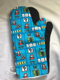 Oven mitts, Super Mario! A pair of fully functional long oven gloves!