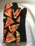 Oven mitts, Bacon! A pair of Fully Functional long foodie Oven Gloves!