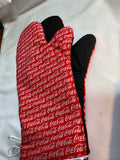 Oven mitts, Food Coca-Cola! A pair of Fully Functional long Oven Gloves!