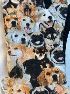 Oven mitts, Animals Dogs! Realistic Dogs. A pair of Fully Functional long Oven Gloves!
