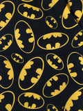 Oven mitts, Batman! On black, a pair of Fully Functional long Oven Gloves!