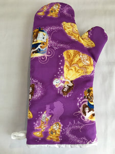 Oven mitts, Beauty and the Beast! A pair of Fully Functional long Oven gloves!