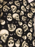 Oven mitts, Skulls with moons and stars! A pair of fully functional long oven gloves!