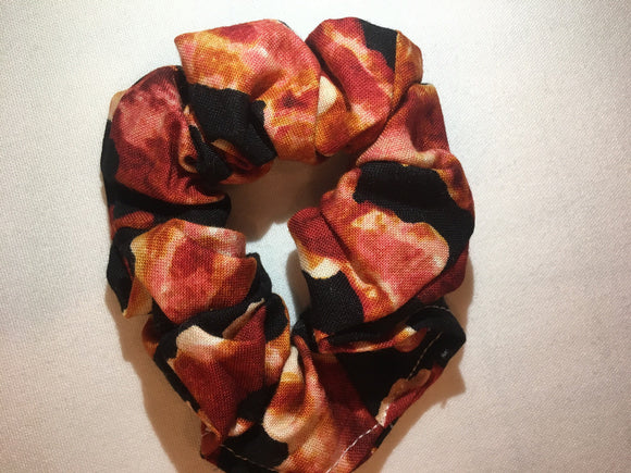 Hair Scrunchie, Bacon hair tie!