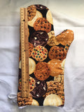 Oven mitts, Fresh baked cookies! A pair of fully functional oven gloves!