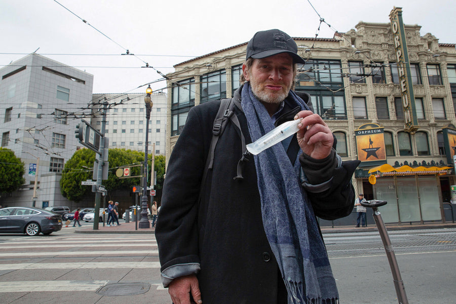 Drug Users Armed With Naloxone Double As Medics On Streets Of San Francisco