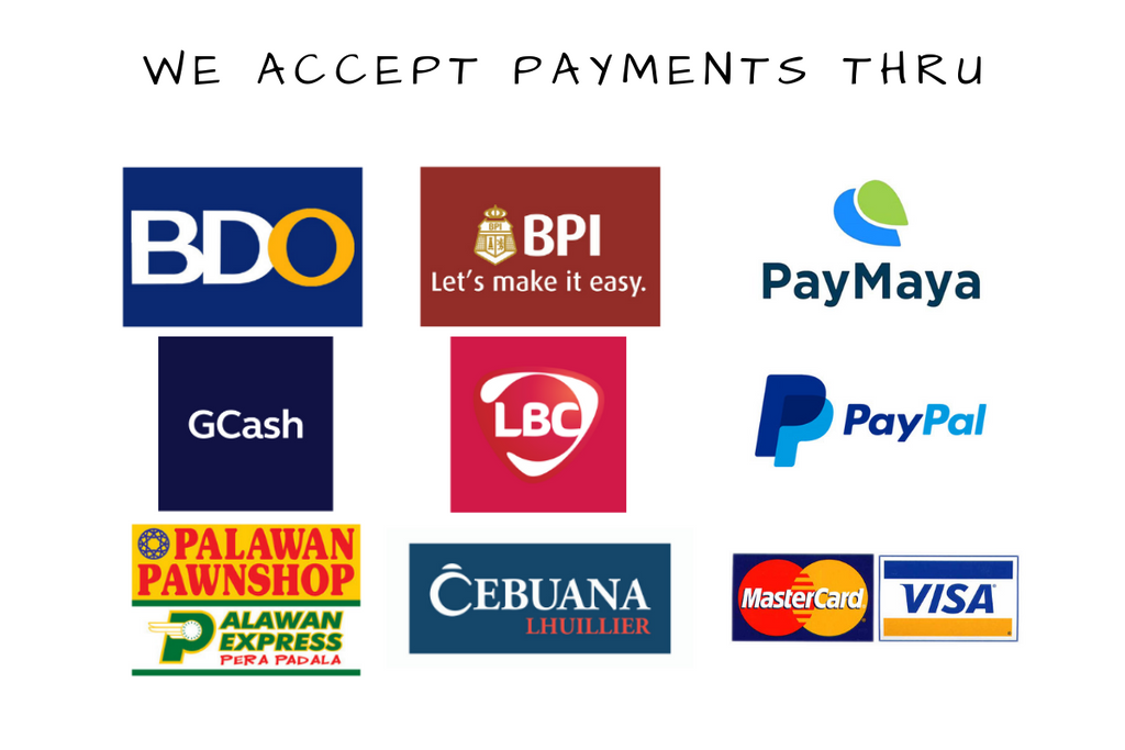 Modes of Payment – ClothesandCoffeePh