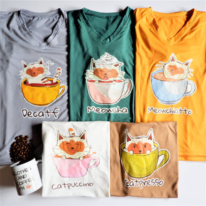Cat Cafe (Shirts)