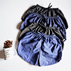 Dolphin Shorts (Soft Denim)