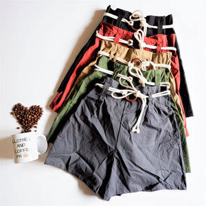 Livy Shorts (String Buckle)