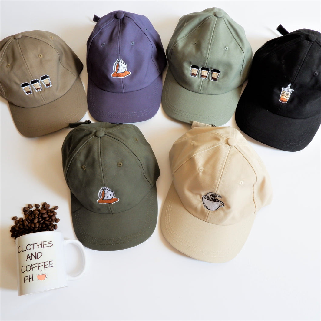 Caps and Hats (Coffee Designs)