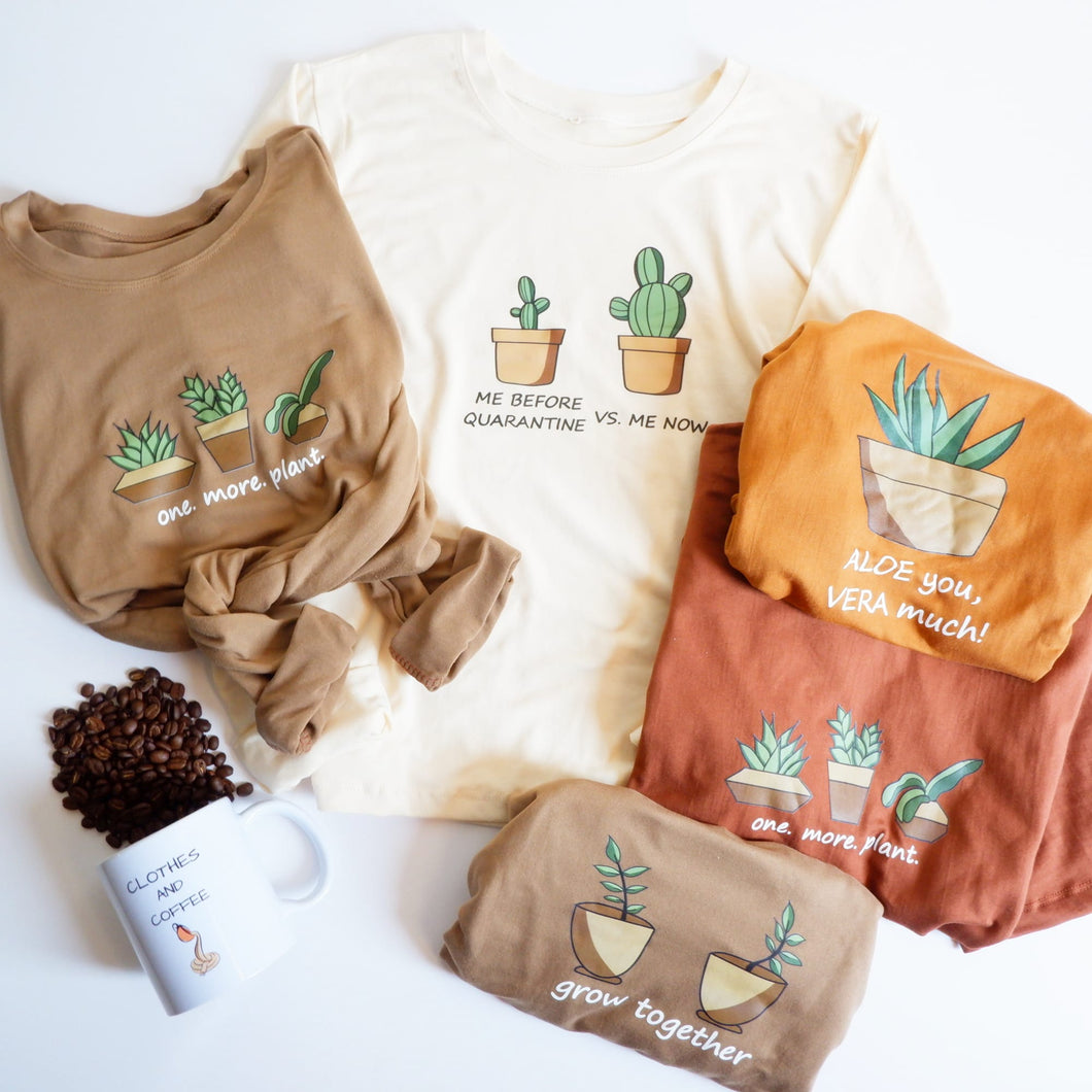 Succulent Designs (Shirts & Pullover)