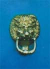 Lion Door Knocker 105mm P.B.