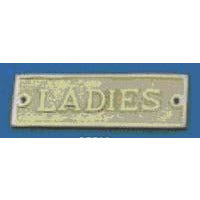 LADIES Sign 145x43mm P.B./C.P.
