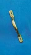 Plain Cupboard Handle 125mm P.B./S.N.