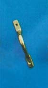 Plain Cupboard Handle 100mm  P.B.