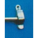 Muslin Curtain Rod Bracket (R.H.) P.B