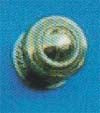 Georgian Cupb.Knob 52mm P.B.
