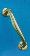 Georgian Door Handle 175mm P.B.