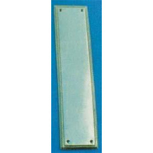 Georgian Push Plate 300x75mm P.B.