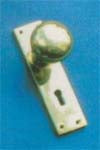 Knob Lock Set 150x42mm  P.B./C.P.