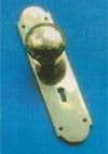 Knob Lock Set 200x50mm P.B.