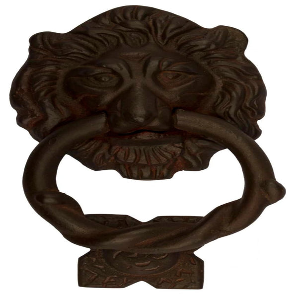 Lion Head Door Knocker 175x90mm R.R/M.W