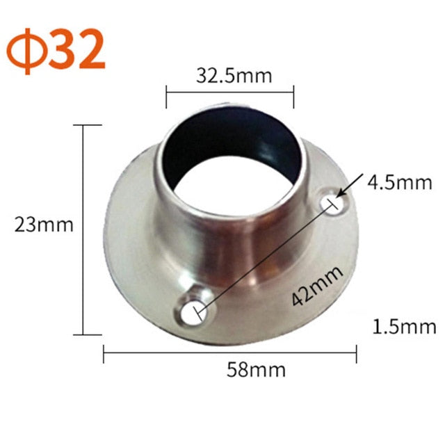 Stainless Steel Flange Seat