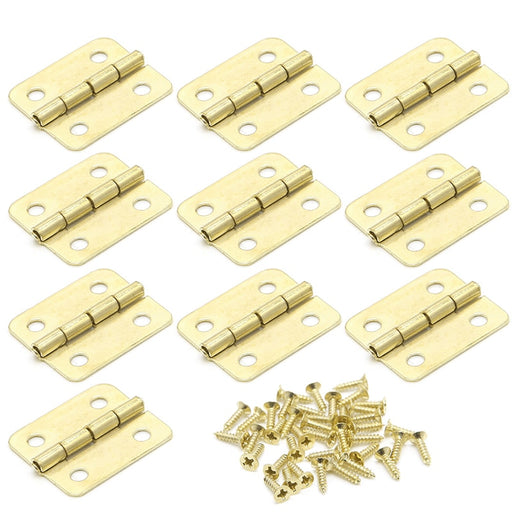 Cabinet Hinges 10pc 18x16mm