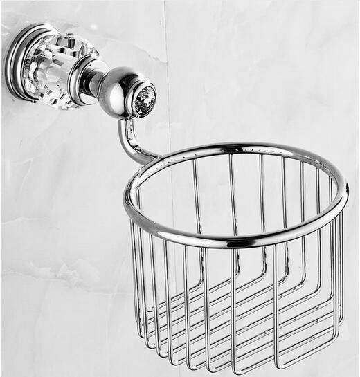 Antique Chrome Brass Bathroom Accessories