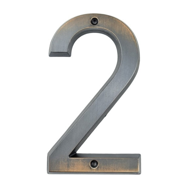 Aged Bronze Numbers 152mm