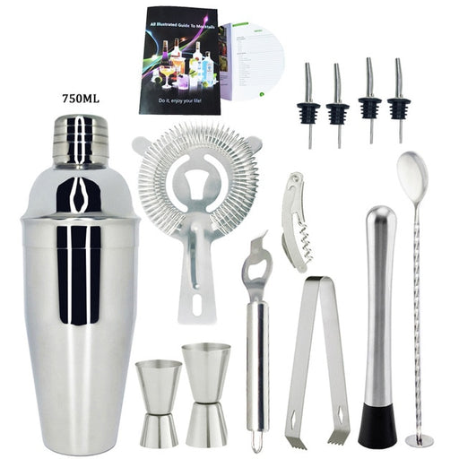 Stainless Steel Bartender Kit