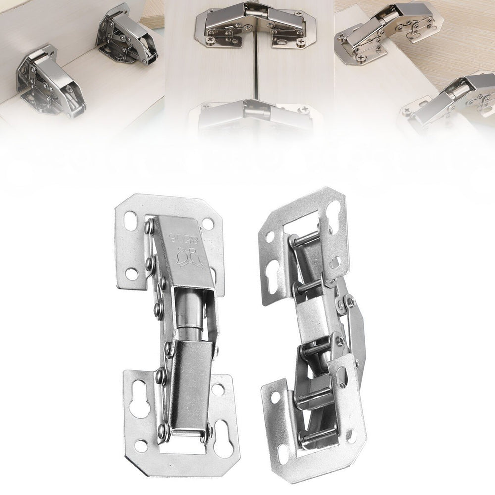 90 Degree Concealed Door Hinges (Pair)