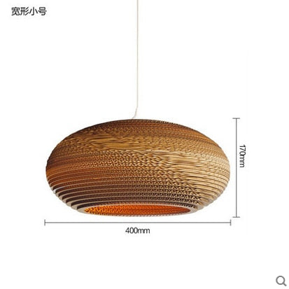 Asian Pastoral Silkworm Chandelier Lights