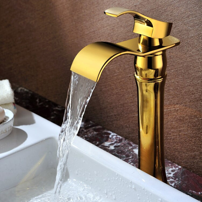Gold PVD Finish Faucet